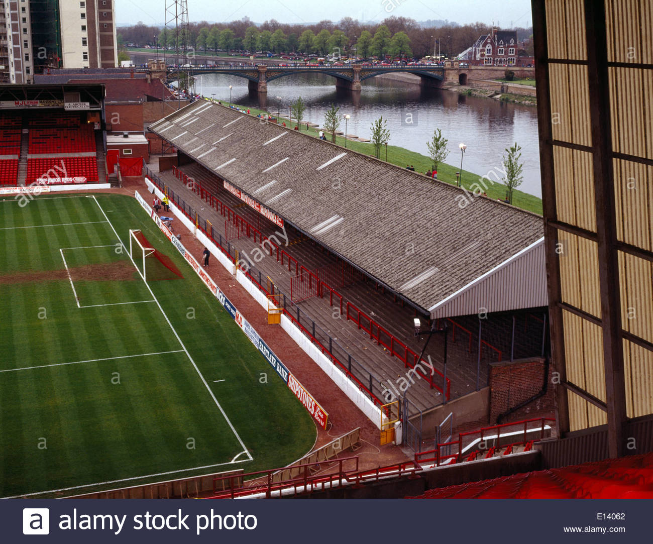 City ground before refurbishment to all seater status with for Terrace images