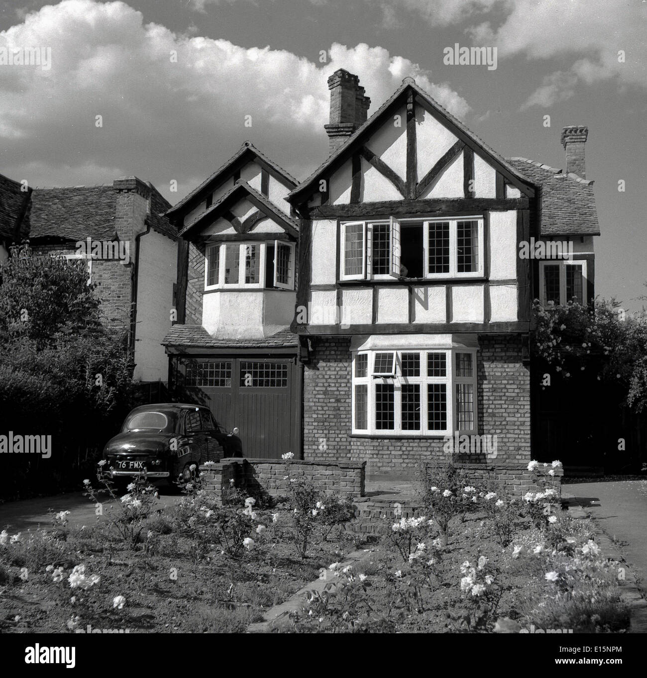 1950S House Prepossessing 1950Shistorical Picture Of Mock Tudor English Suburban House Inspiration