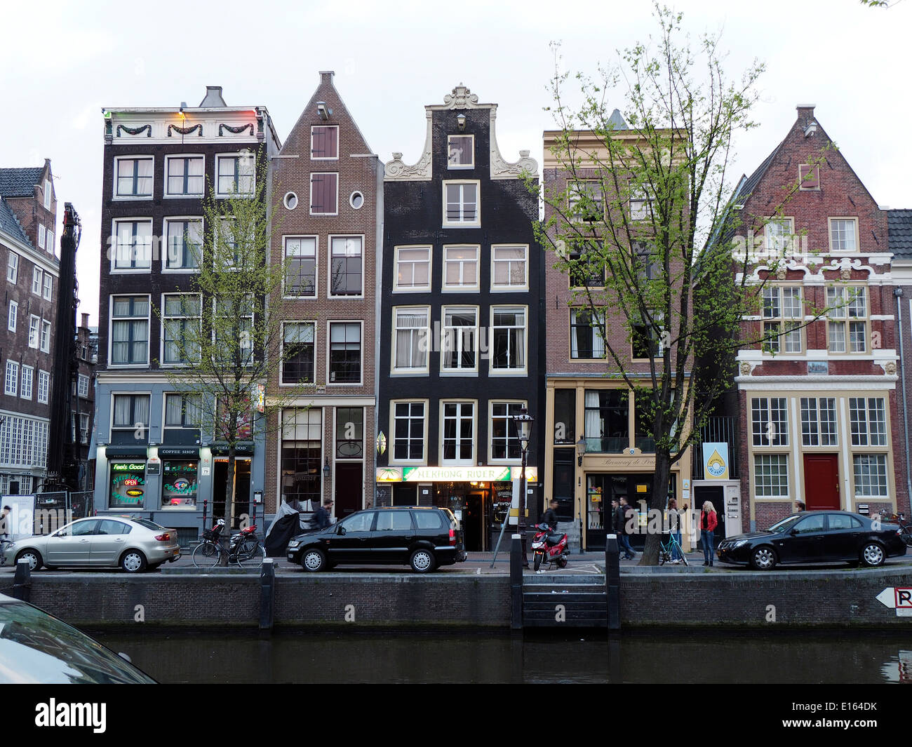 Narrowest House In The World Very Narrow House In Amsterdam Stock Photo Royalty Free