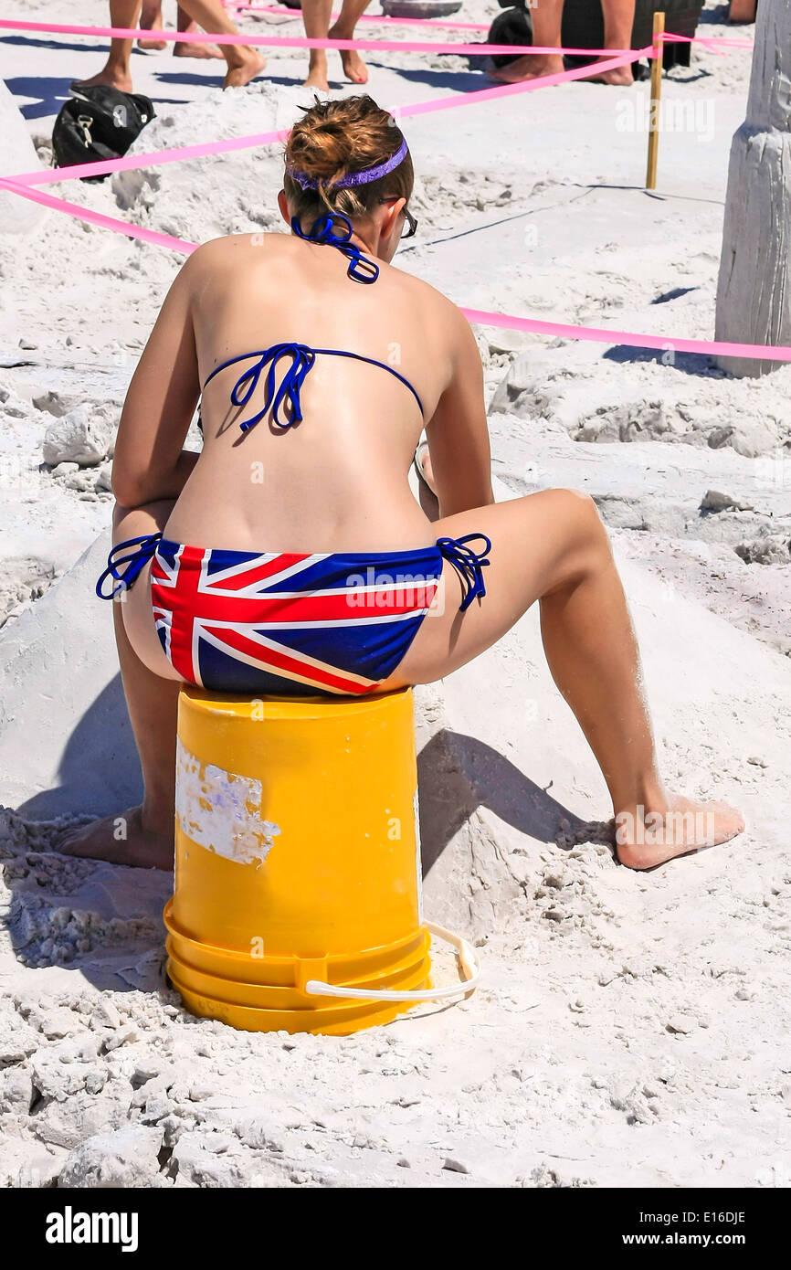 British Sun Girl