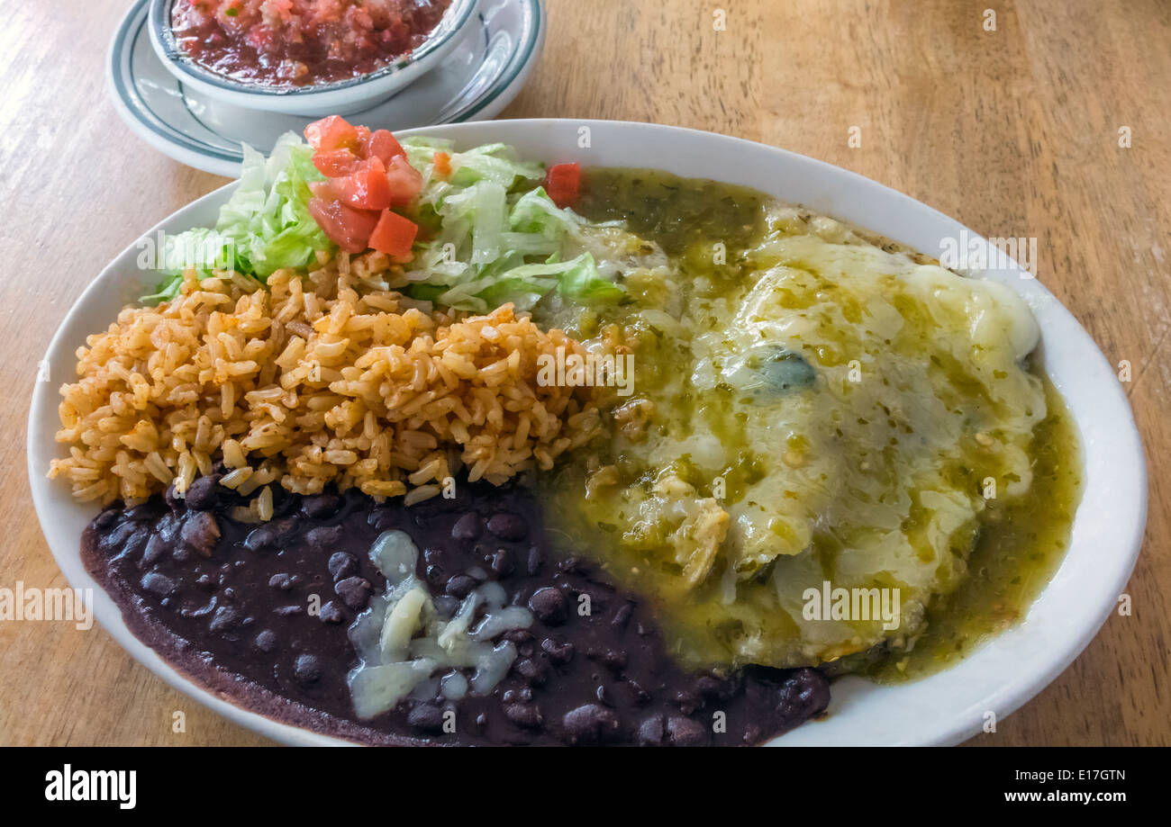 Enchiladas With Rice And Beans rice bean and cheese e...