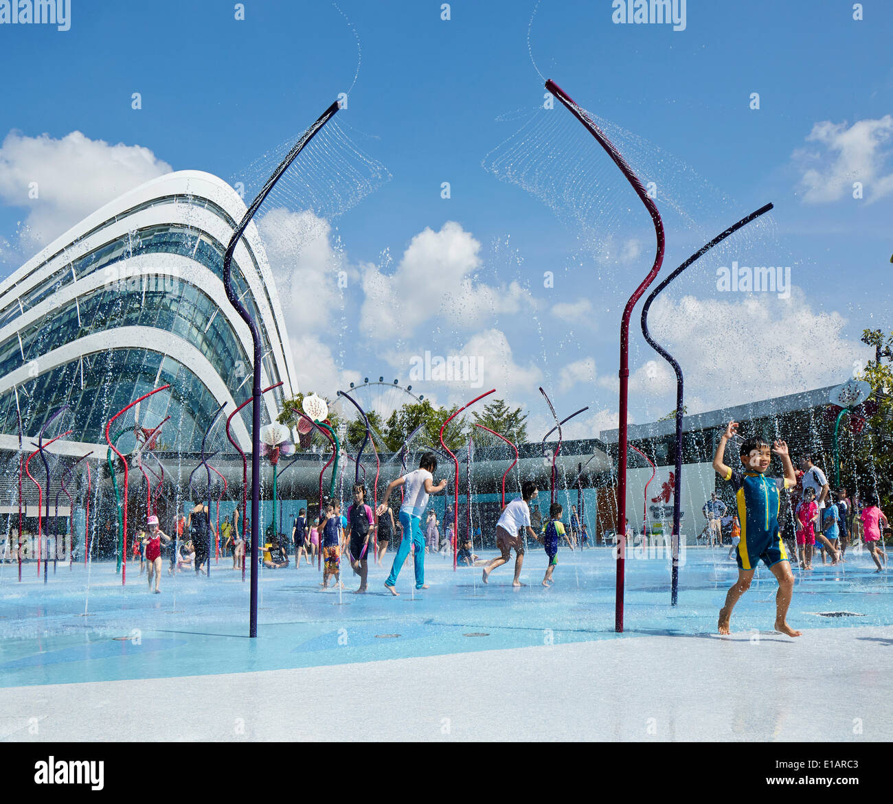 Garden By The Bay Water Park gardens bay singapore singapore architect stock photos & gardens