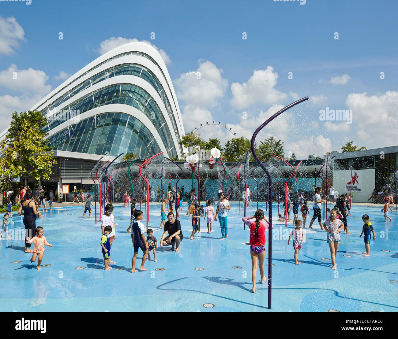 Garden By The Bay Water Park gardensthe bay, children's garden, singapore, singapore stock