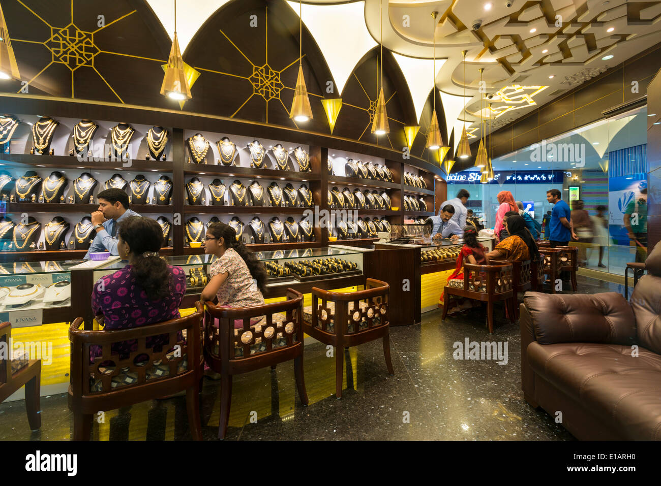 Lovely Jewellery Shop, Lulu Mall, Kochi, Kerala, India