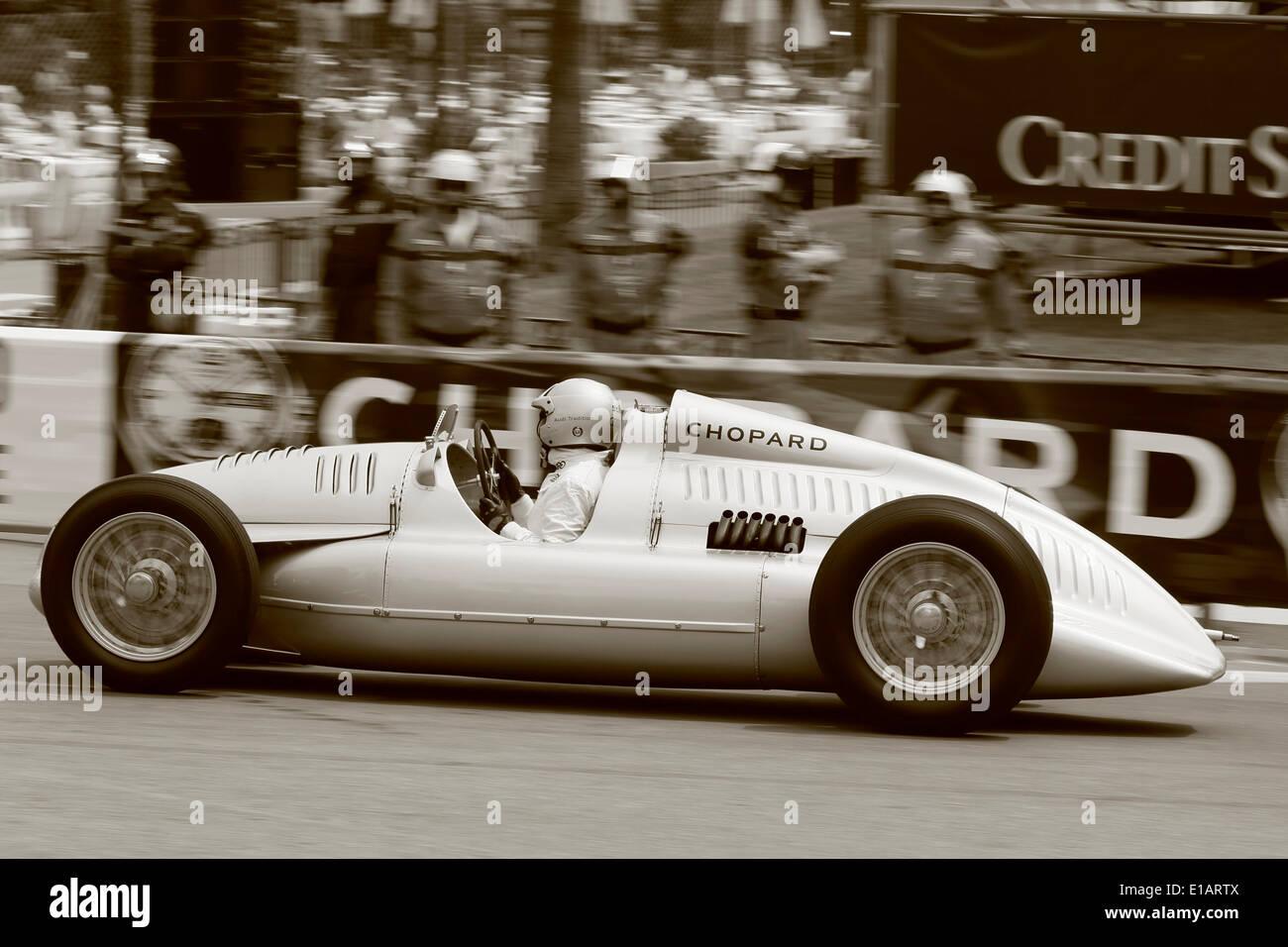 Auto Union Type C Racing Car Silver Arrow Replica 9th