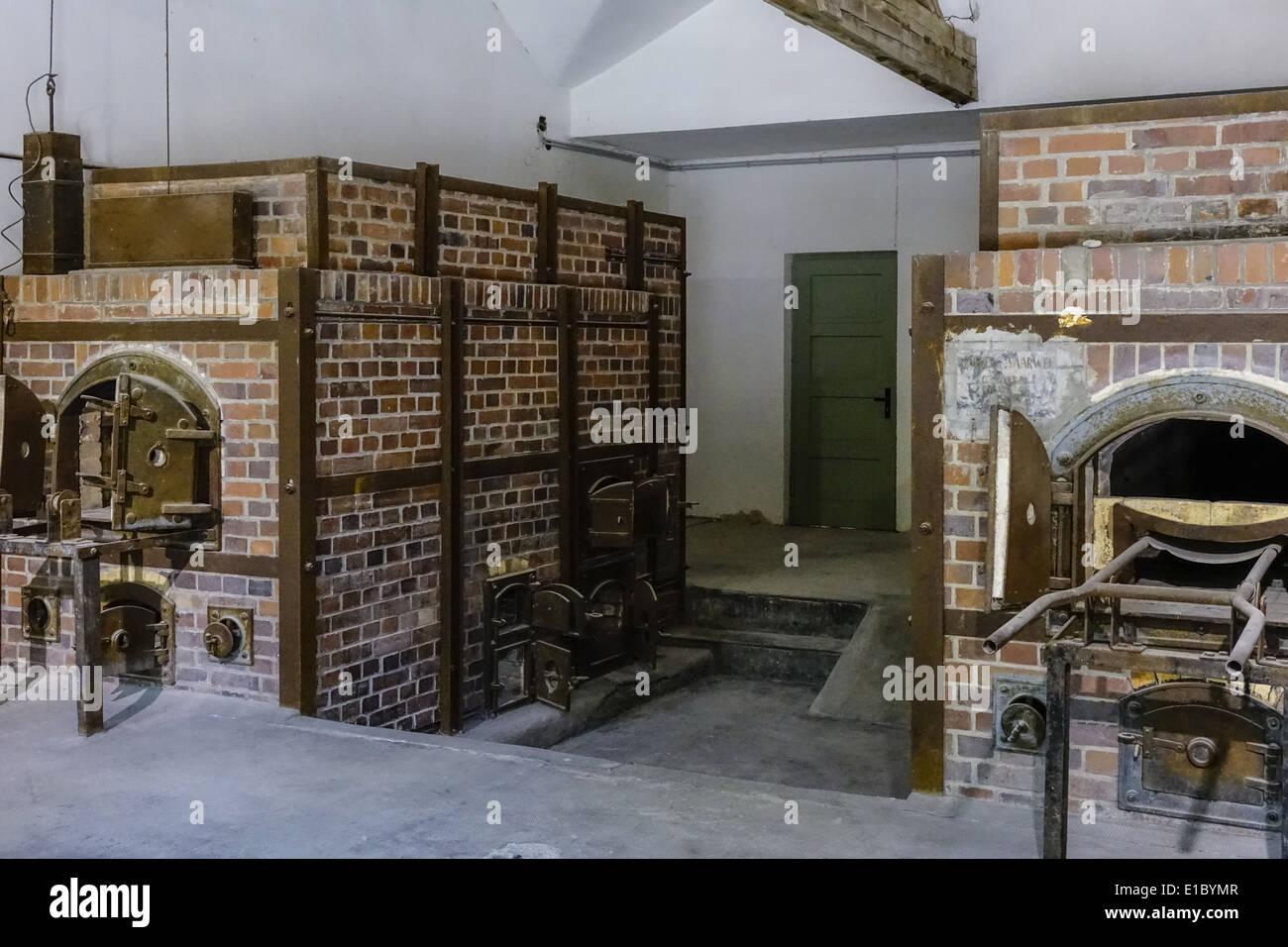 krematorium kz gedenkst tte dachau in der n he von m nchen bayern stock photo royalty free. Black Bedroom Furniture Sets. Home Design Ideas