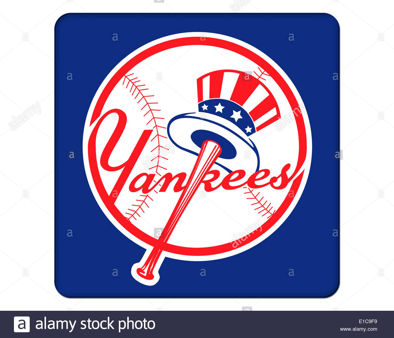 New york yankees logo stock photos new york yankees logo stock new york yankees icon logo isolated app button stock image biocorpaavc