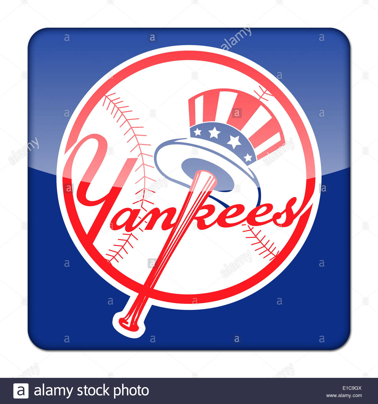 New york yankees icon logo isolated app button stock photo 69727050 new york yankees icon logo isolated app button stock photo biocorpaavc Image collections