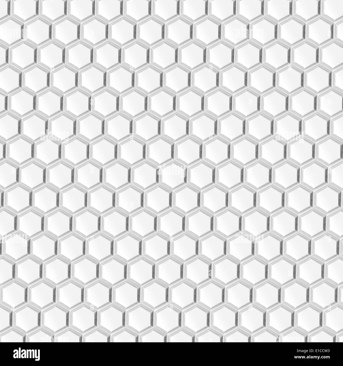 white honeycomb background or hexagon abstract grey ...