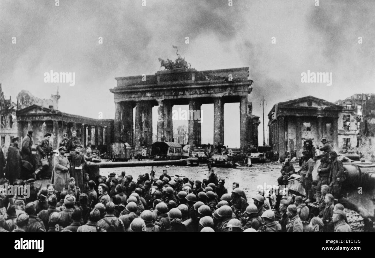 battle of berlin This is the final resting place for 5,000 of the 80,000 soviet troops who fell in the battle of berlin between 16 april and 2 may 1945 the colossal proportions of the monument reflect the scale of the sacrifice at the top of a long flight of steps, you can peer into the base of the statue, which is lit up like a.
