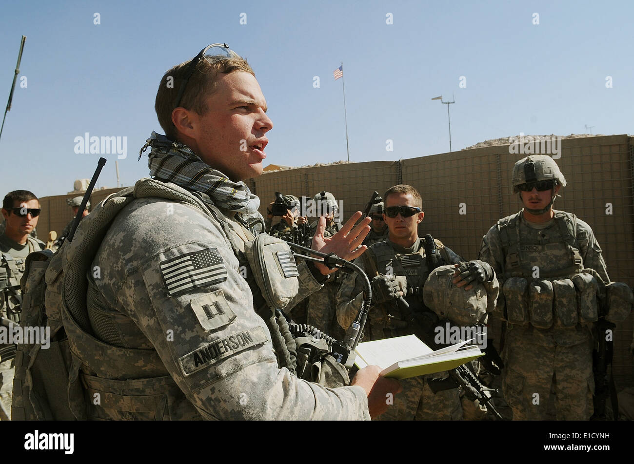 U.S. Army Capt. Brandon Anderson, Headquarters Company ...
