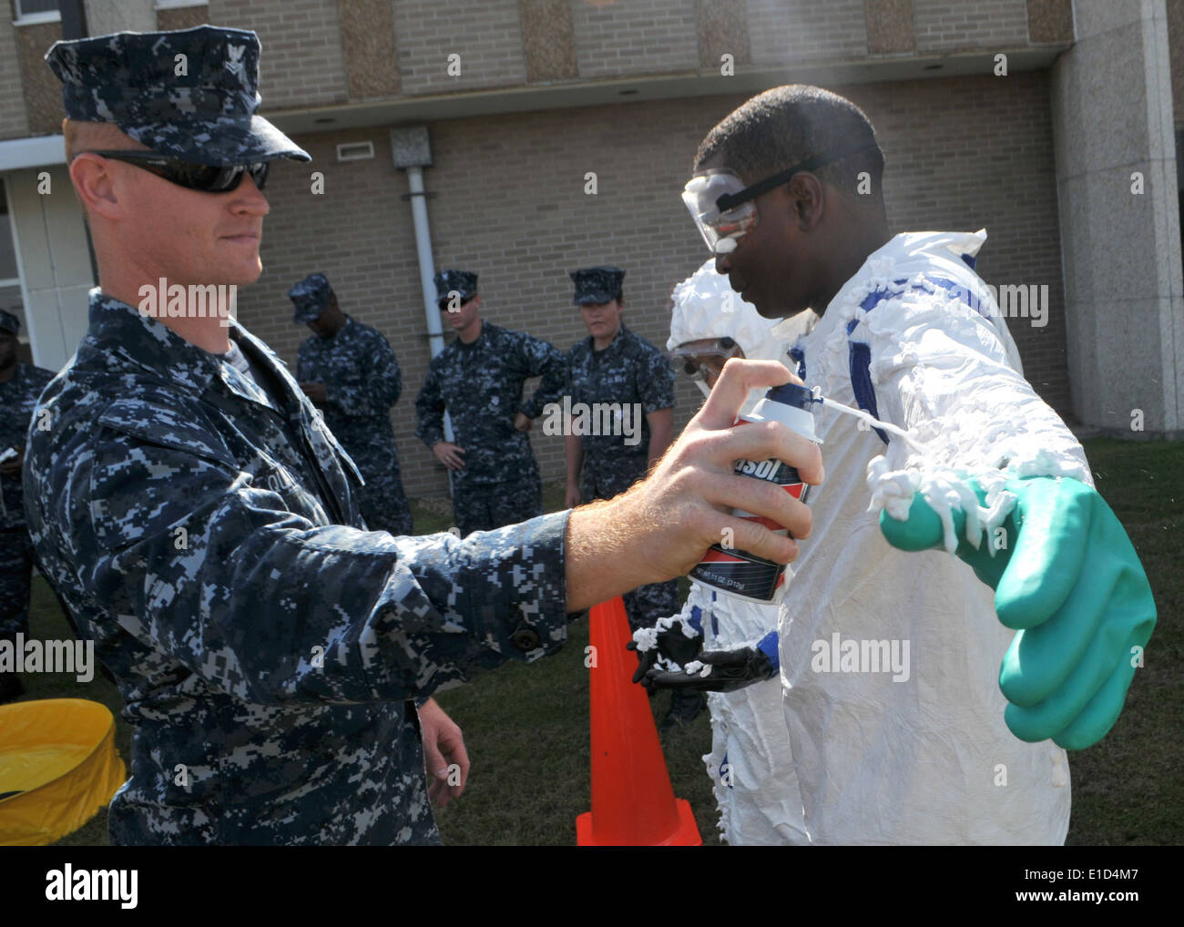 U.s. Navy Master-at-arms 2nd Class Jason Qualls, Assigned To The ...