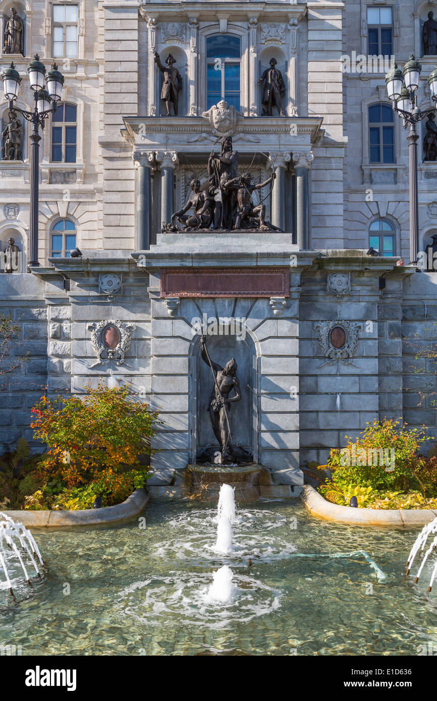 Water fountains canada - Decorative Water Fountains In Front Of The Quebec National Assembly Building In Quebec City Quebec Canada