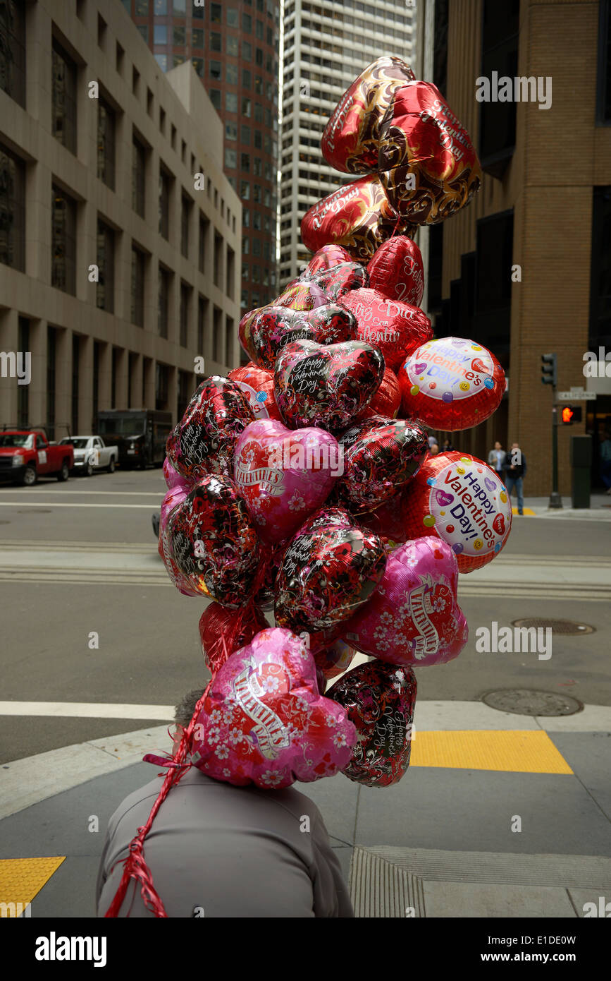 valentines day balloons san francisco california
