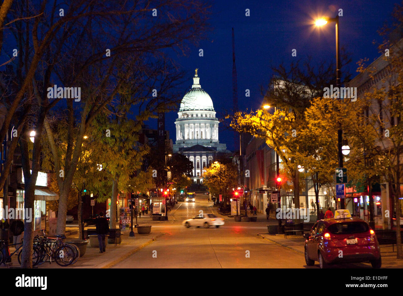Visit downtown Madison, Wisconsin, State Street and Capitol Square for shopping, restaurants, bars, galleries, hotels, locally owned businesses, events, entertainment, arts and parking, all in Madison's Central Business Improvement District (BID).