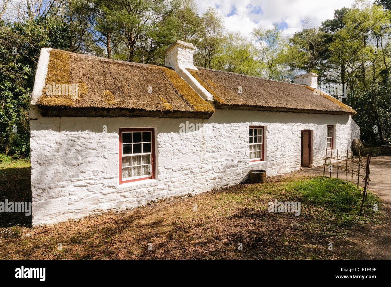 Thatch roof ireland irelandu0027s professional roof for Traditional irish cottage designs