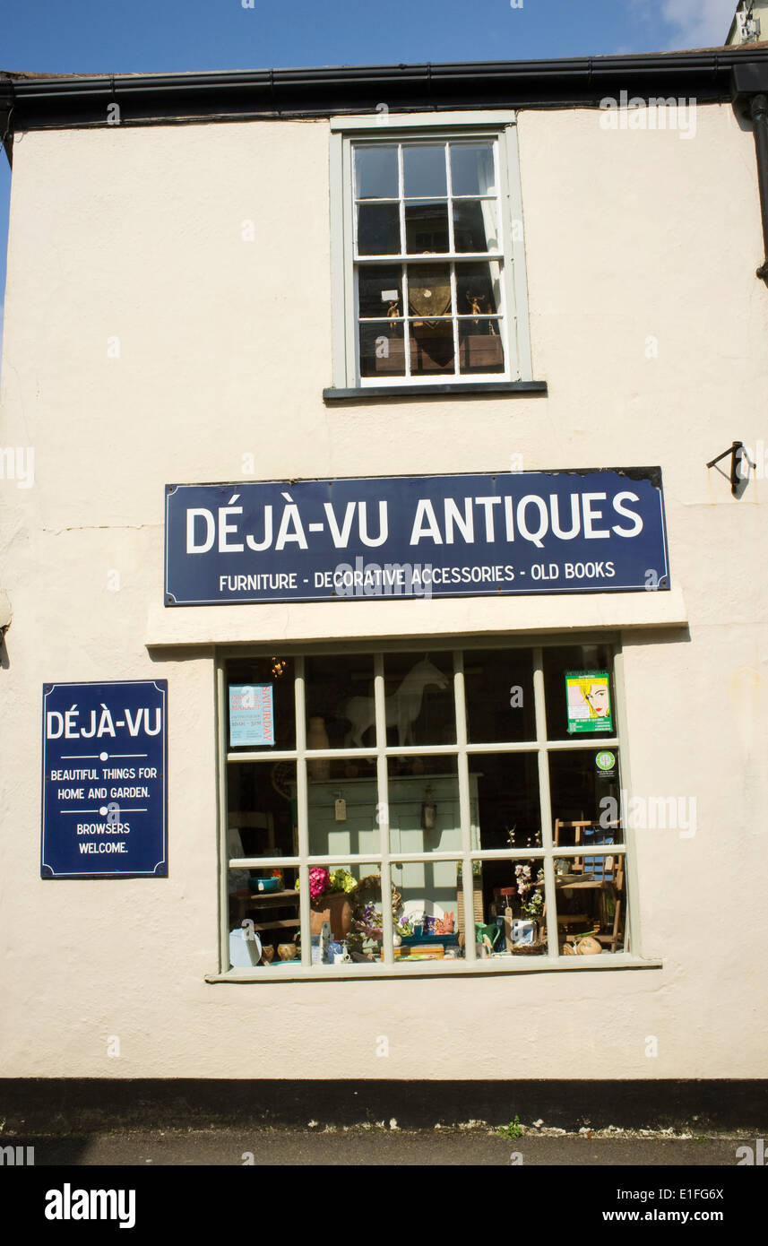 Deja Vu Antiques, Country, Rustic Furniture And Brocante Shop In  Lostwithiel, Cornwall, England, UK.