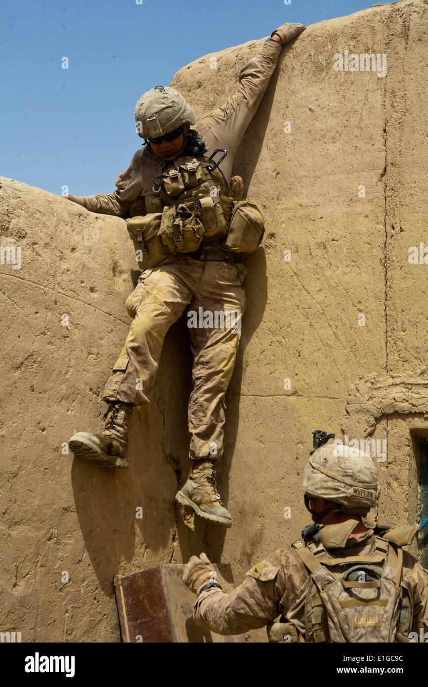 U.s. Marine Corps Lance Cpl. Ricardo Gomez, A Rifleman With 1st ...