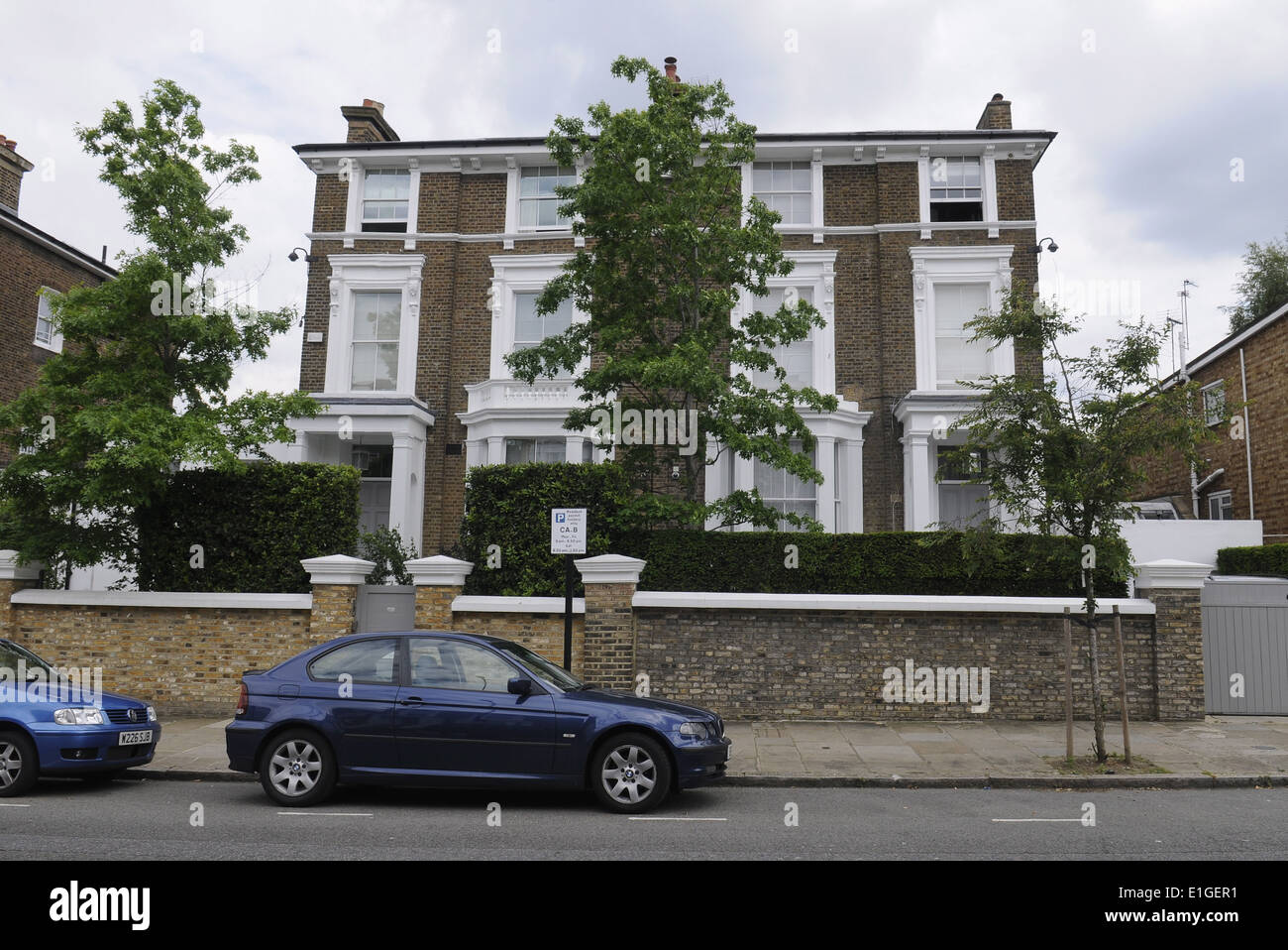 Gwyneth Paltrow And Chris Martins London Home In Belsize Park UK