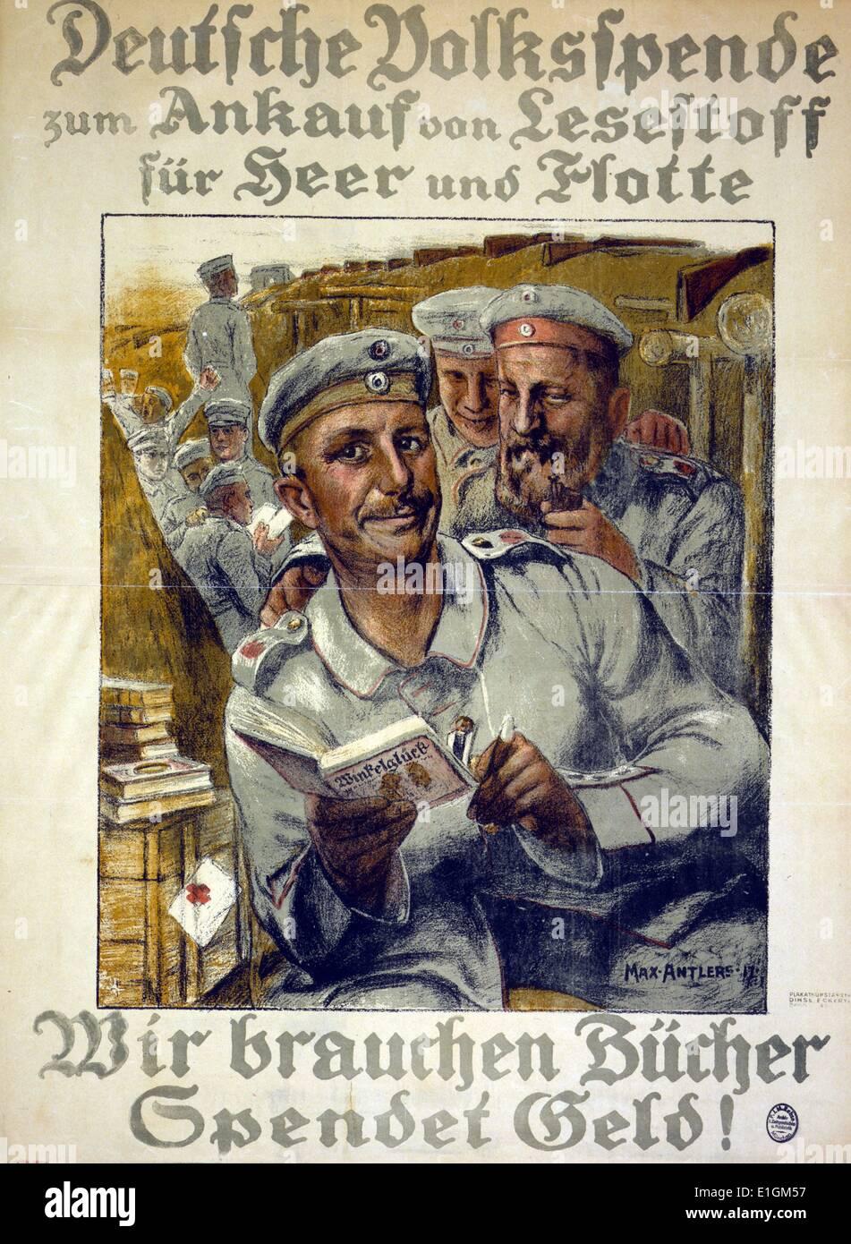 World War One Propaganda Poster Stock Photos & World War One ...