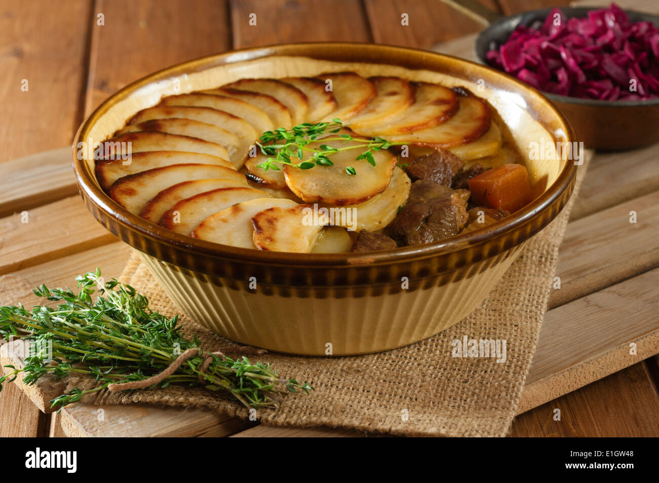 Lancashire Hotpot Traditional Lamb And Potato Dish Uk Food
