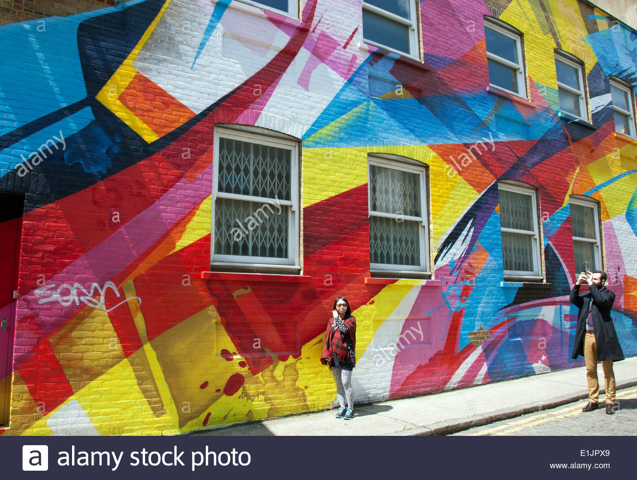 east london street art map rome - photo#8