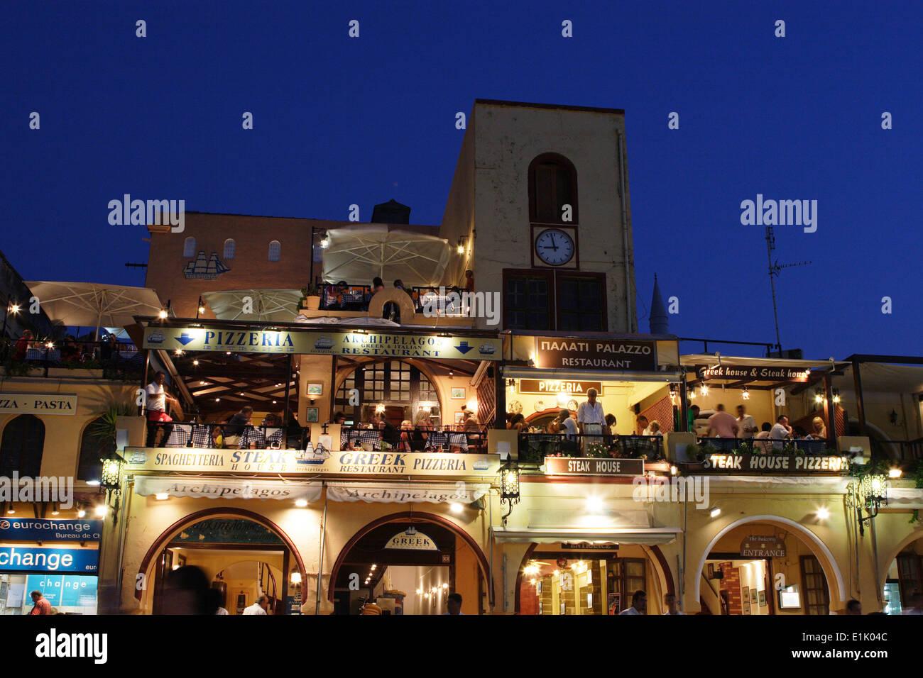 Gallery images and information kos greece nightlife - Filename Nightlife Rhodes Island Rhodes Town Greece E1k04c Jpg View Image