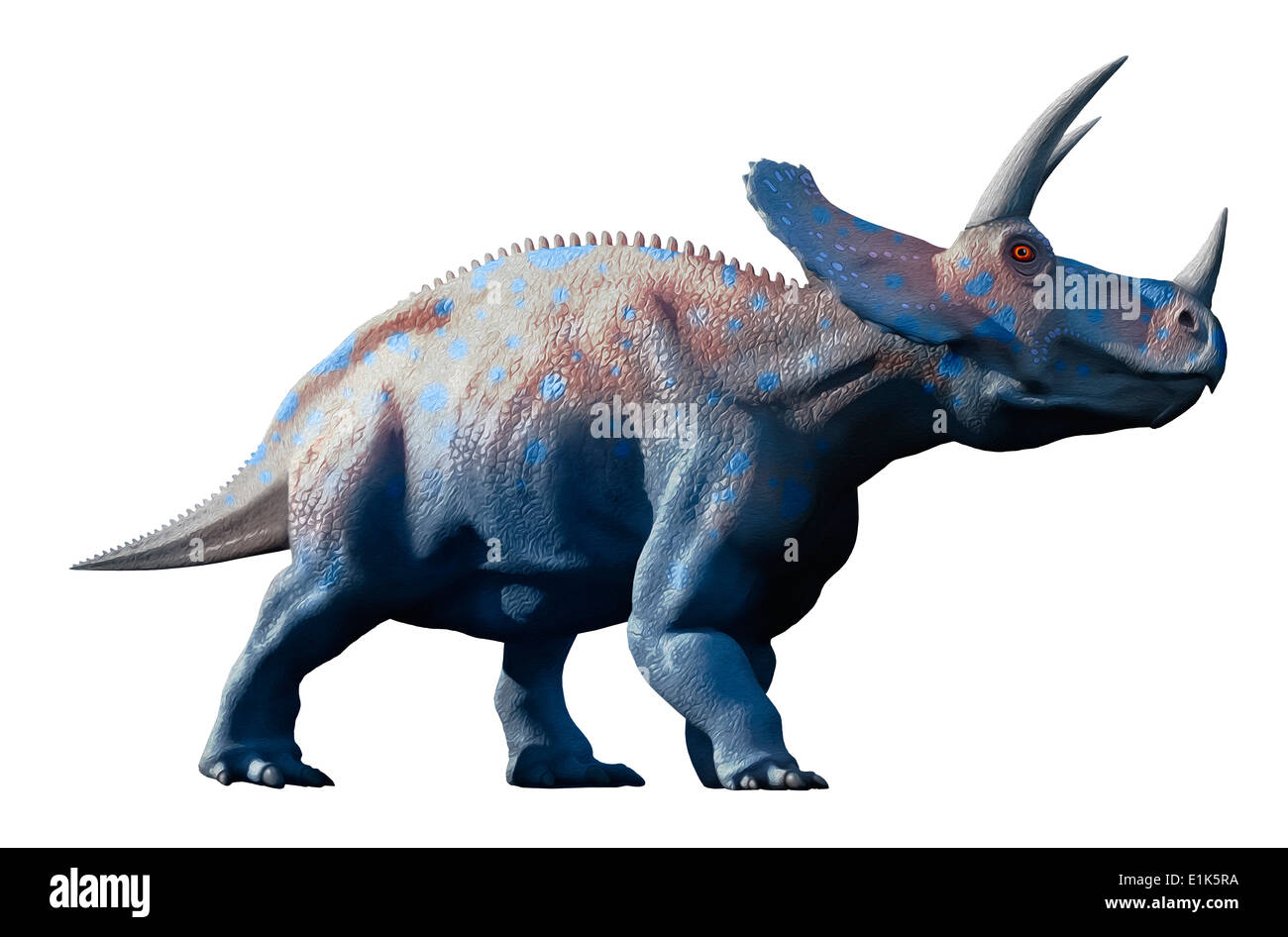 Artwork Of A Herd Triceratops Dinosaurs These Animals Were Common In The Late Cretaceous Period