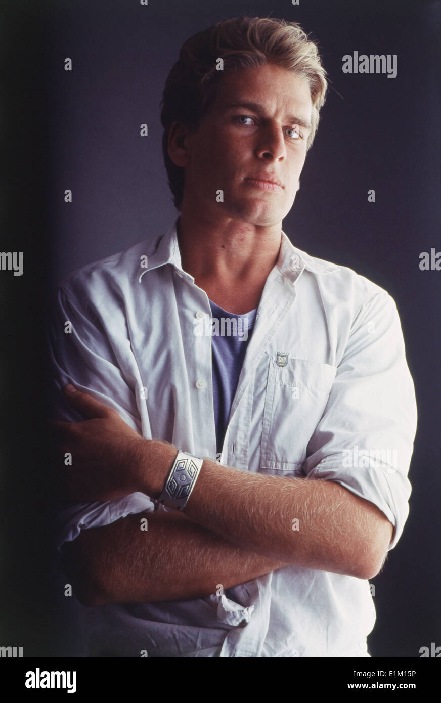 Portrait Of Indian Film Actor And Model Karan Kapoor Stock