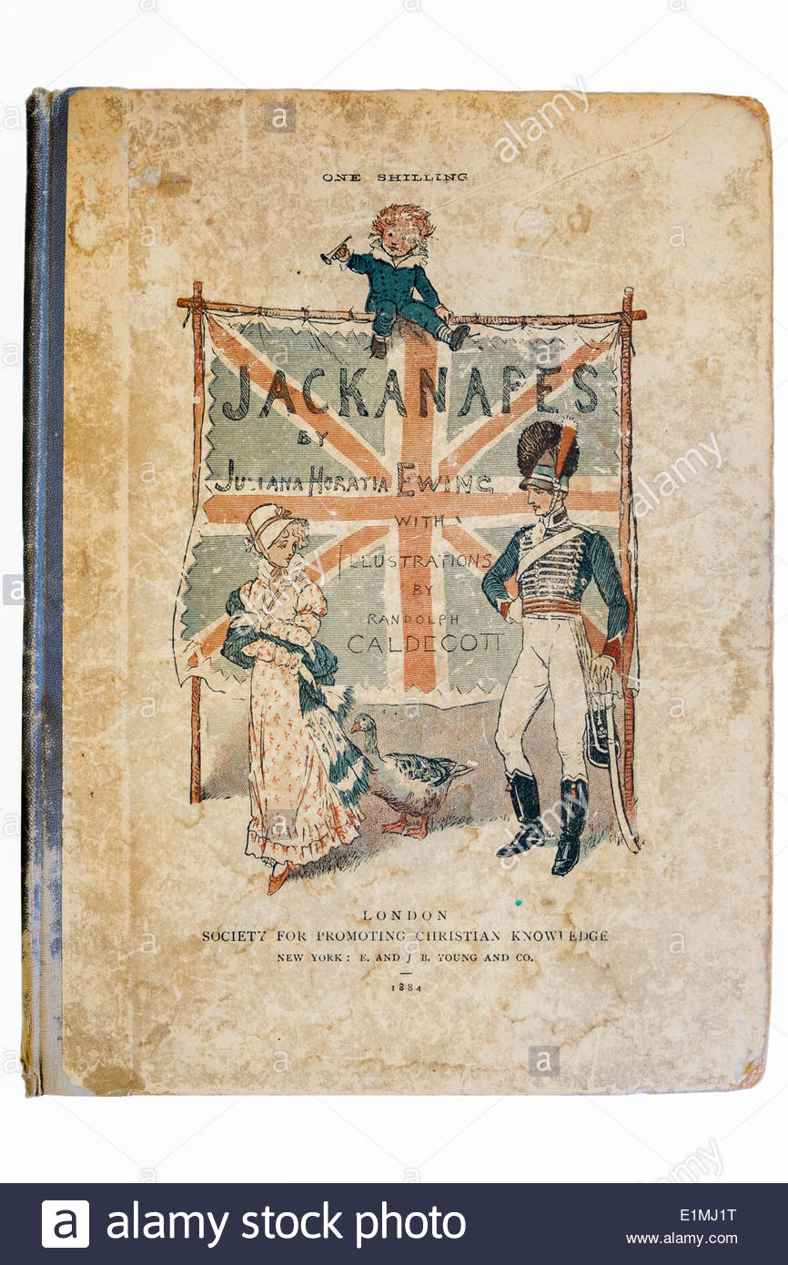 antique copy of the childrens story book jackanapes published in