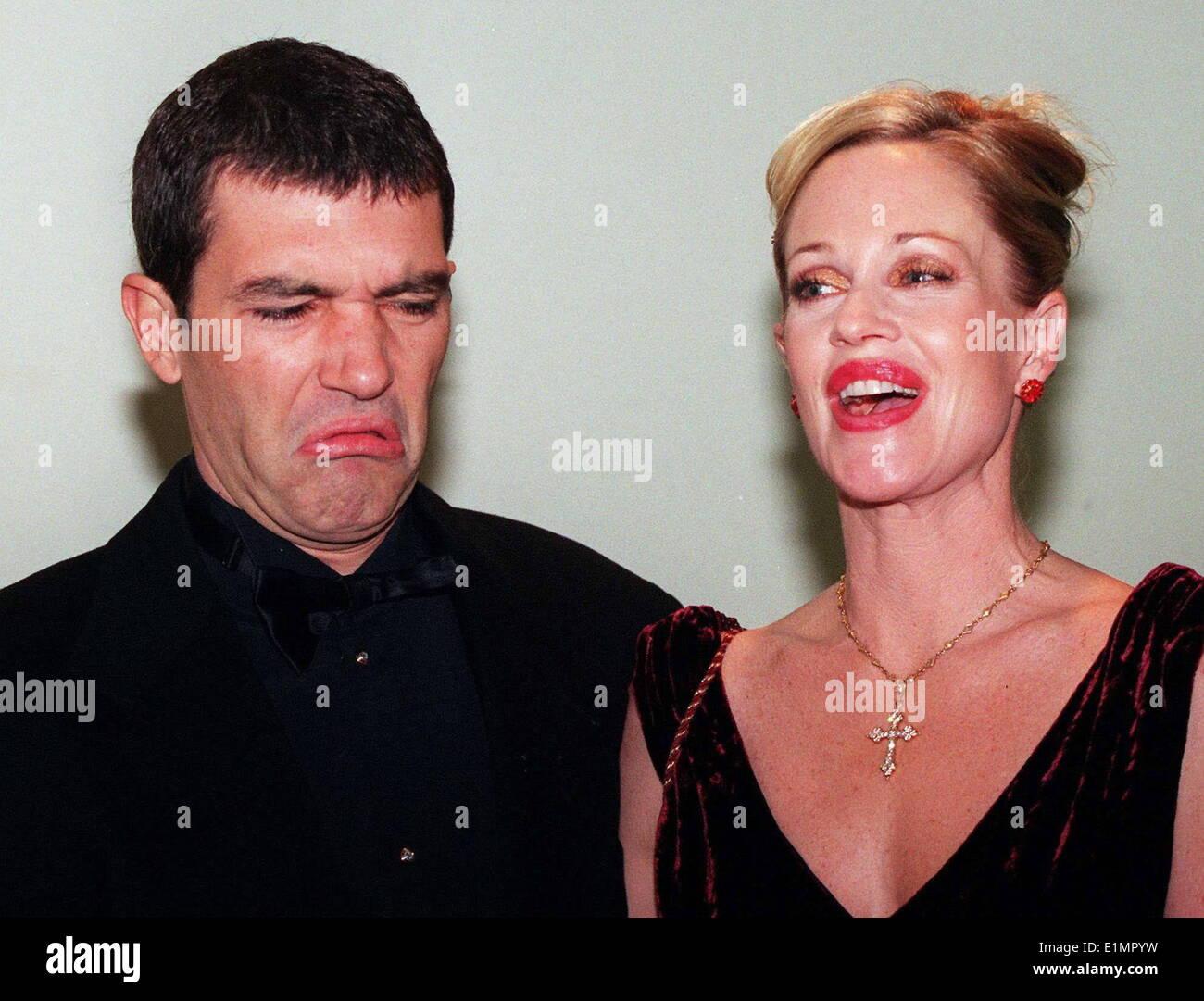 Melanie Griffith And Antonio Banderas 2013