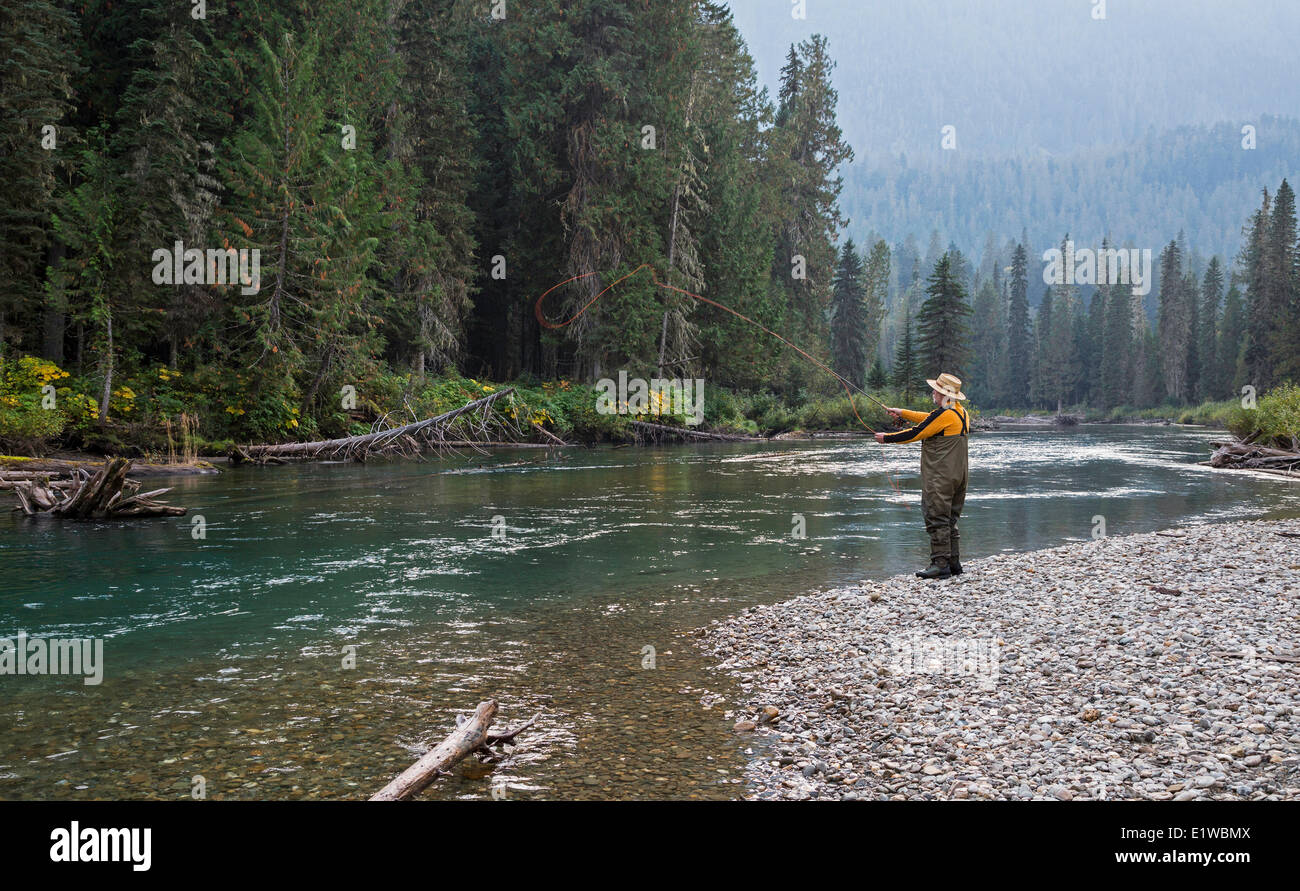 Fly fishing mitchell river cariboo mountains british for Fly in fishing canada