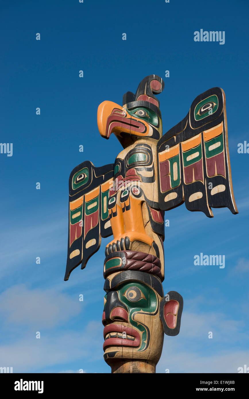 Totem Poles, Campbell River, British Columbia, Canada