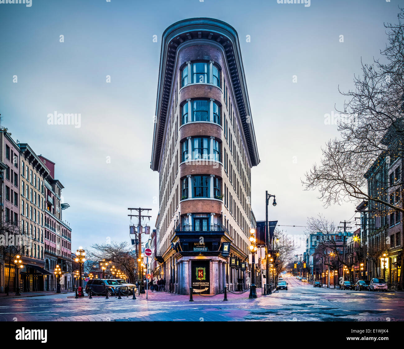 Color printing downtown vancouver - Hotel Europe Vancouver B C Canada