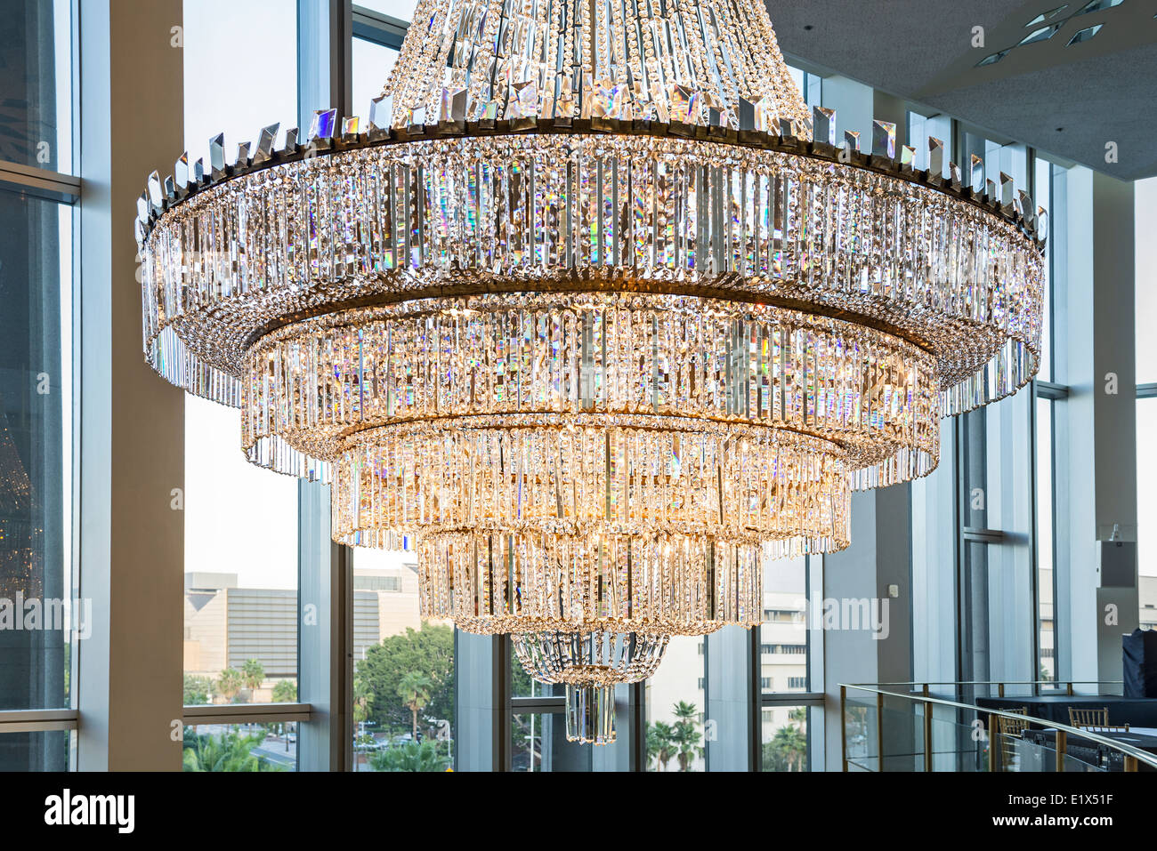 Crystal Chandelier Stock Photos & Crystal Chandelier Stock Images ...