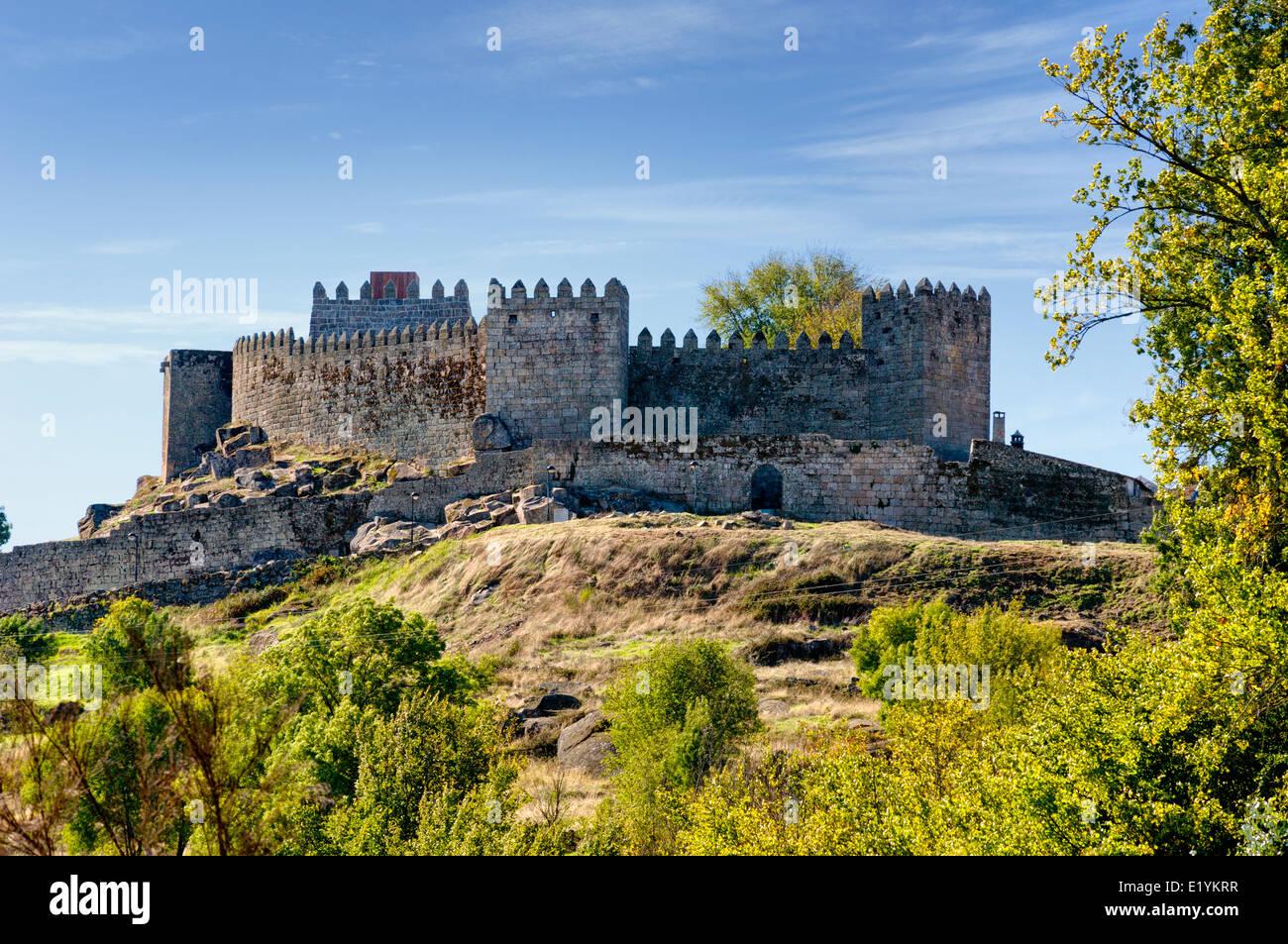 Portugal, the Beira Alta, Trancoso castle Stock Photo, Royalty Free Image 70064395 Alamy
