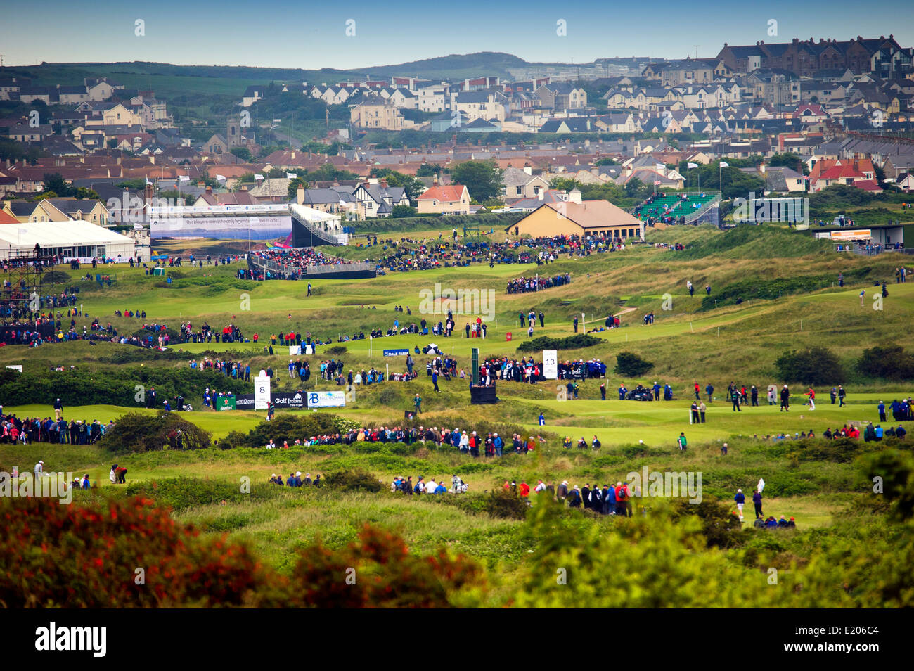 Irish open royal portrush 2012