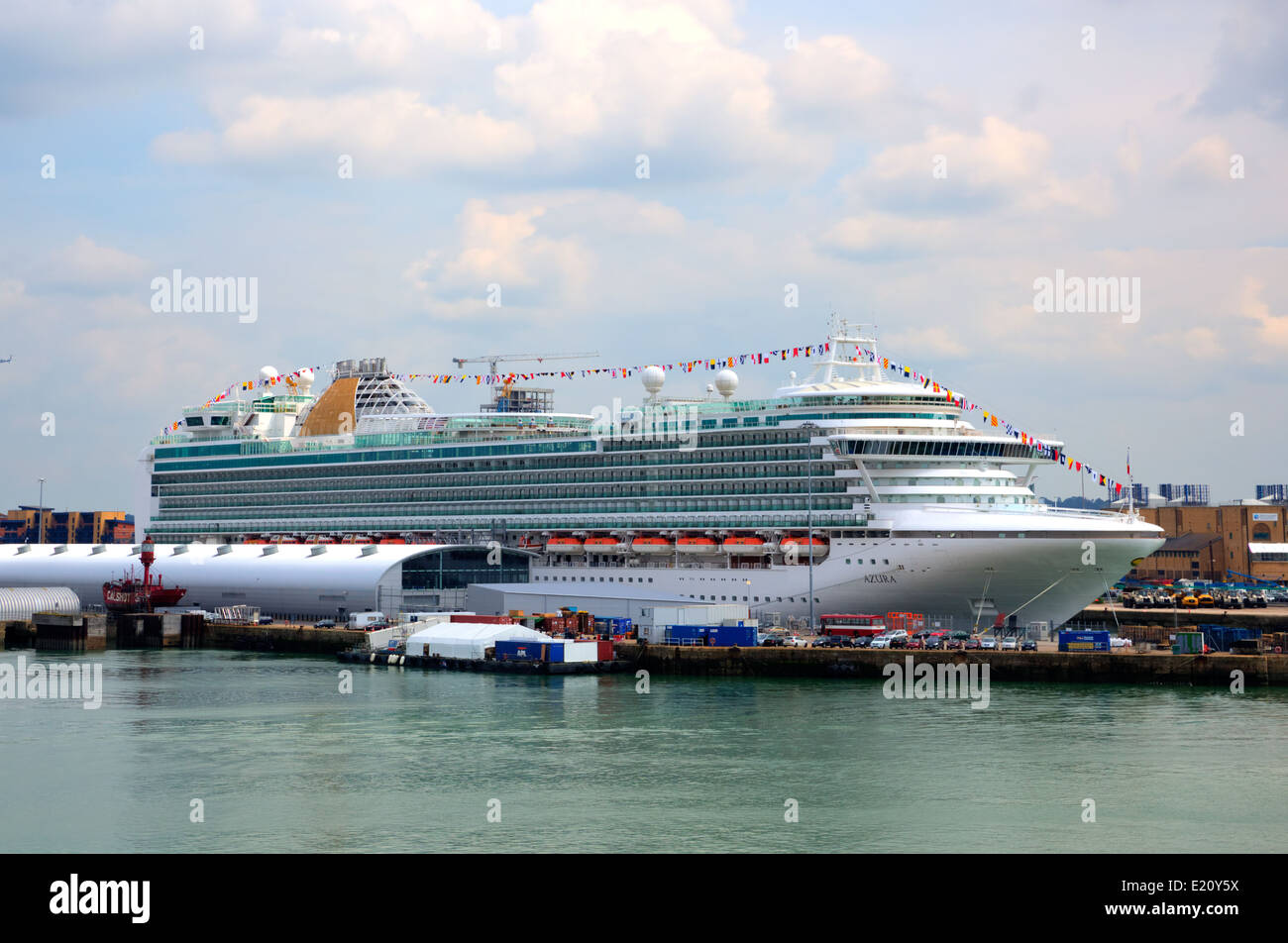 Azura Cruise Ship Operated PampO Cruises And Owned By