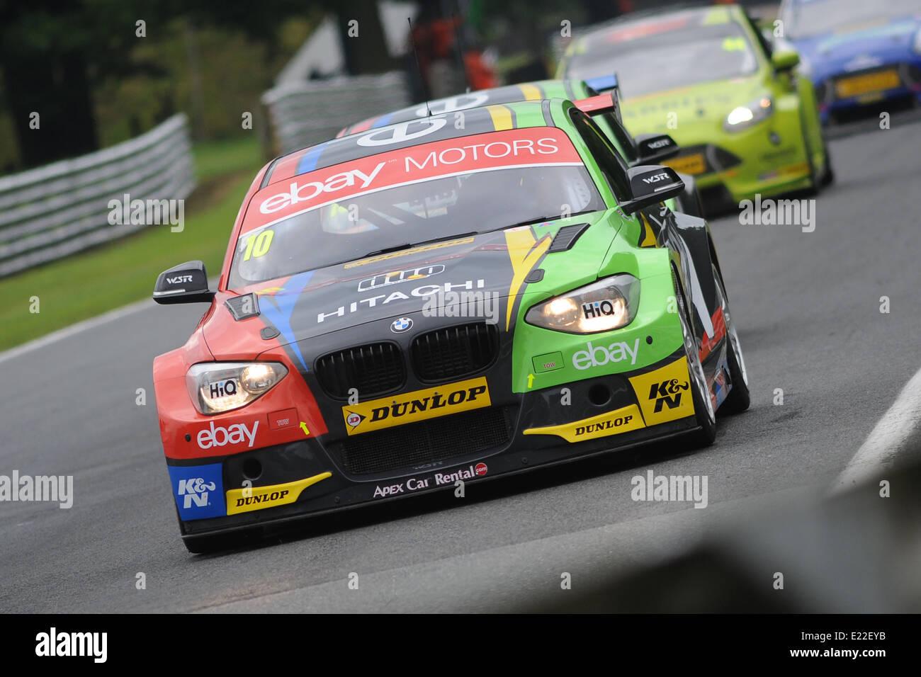 Rob Collard (GBR) eBay Motors BMW 125i M Sport Stock Photo, Royalty ...