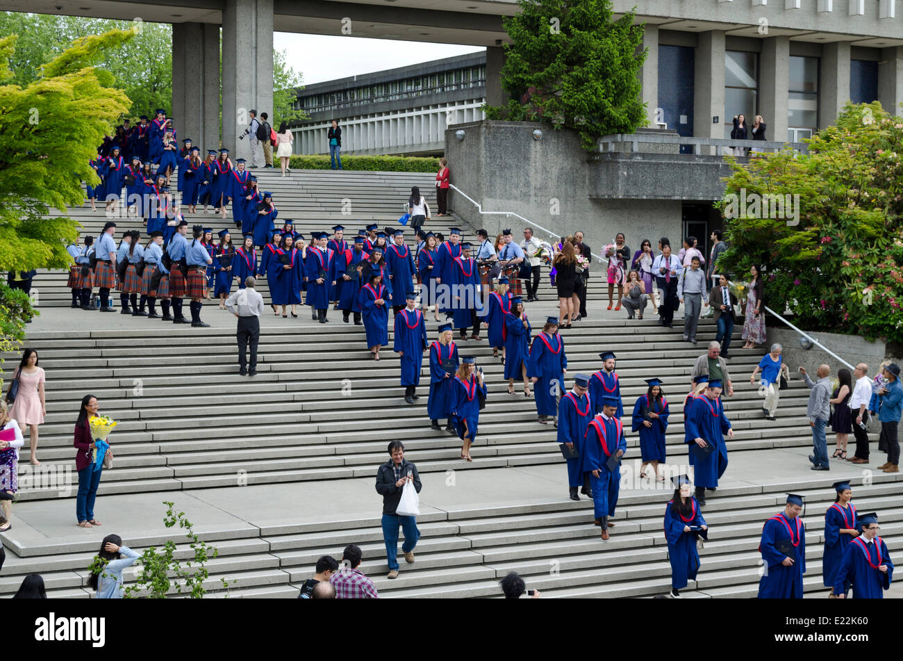 Burnaby (BC) Canada  City pictures : Burnaby, Bc, Canada. June 12, 2014: Simon Fraser University Stock ...
