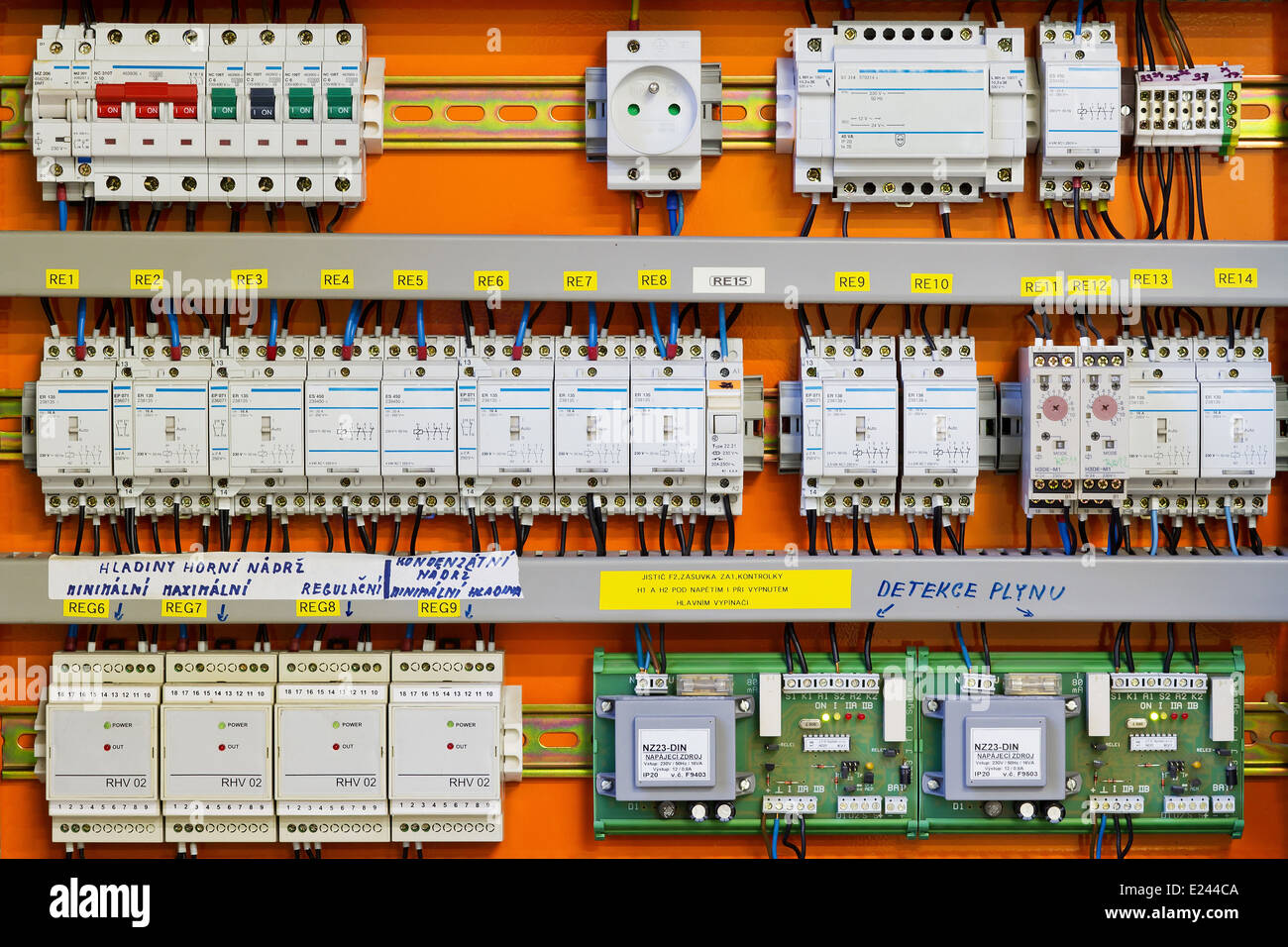 Circuit Breaker Cabinet Circuit Breaker Panel Stock Photos Circuit Breaker Panel Stock