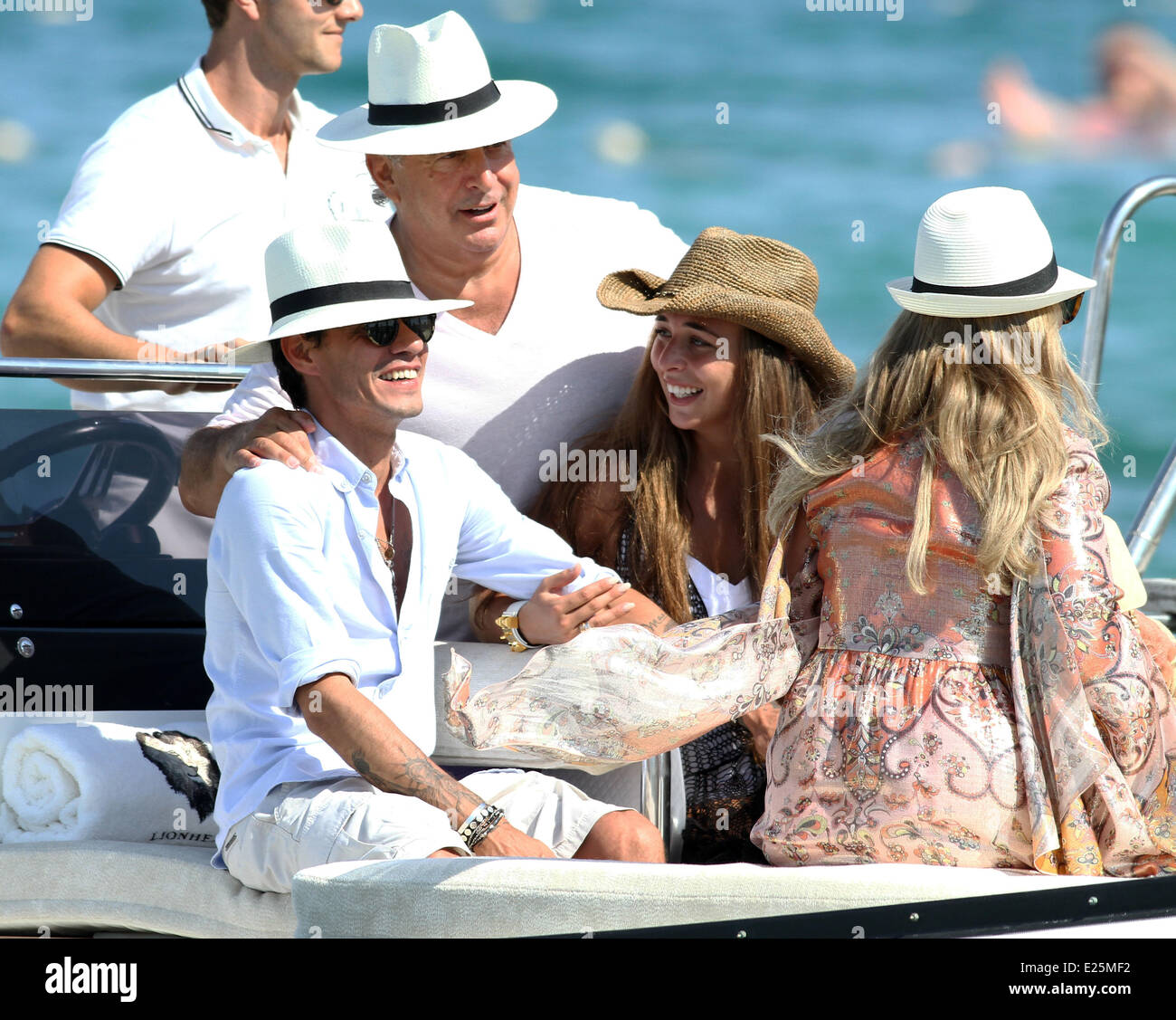Celebrities at club 55 in st tropez featuring chloe green marc stock photo royalty free image - Club 55 saint tropez ...