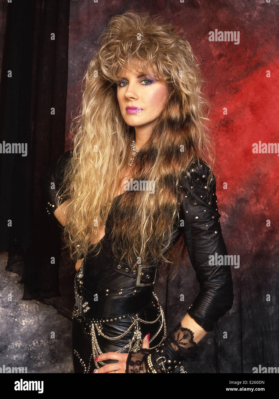 Jan Kuehnemund Founding Member And Lead Guitarist For The All Female Glam Metal Band Vixen Featuring Where London United Kingdom When 12