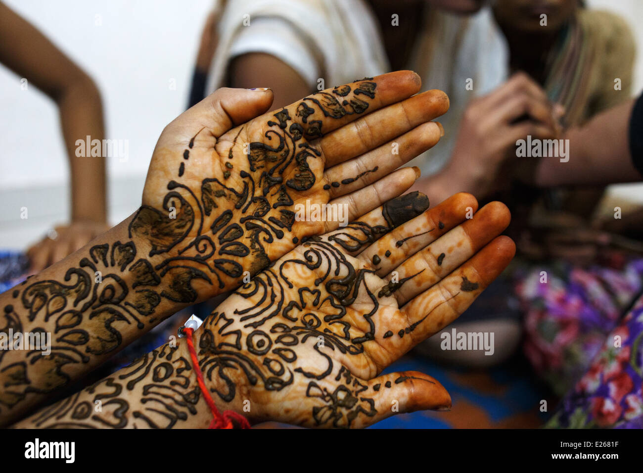 Henna Art Stock Photos Amp Henna Art Stock Images Alamy
