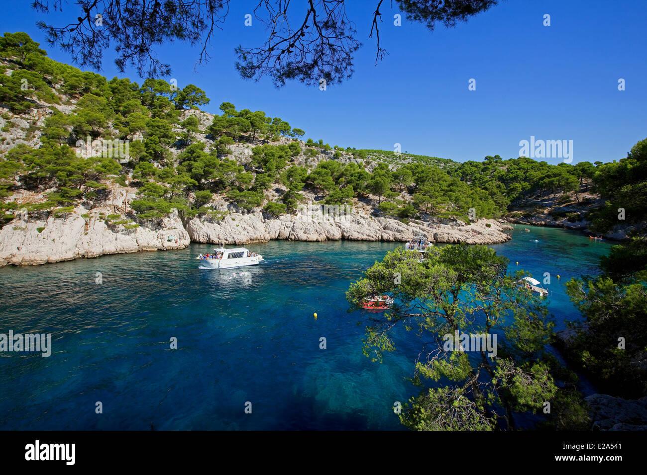 France bouches du rhone cassis calanque de port pin for Chambre de commerce bouches du rhone