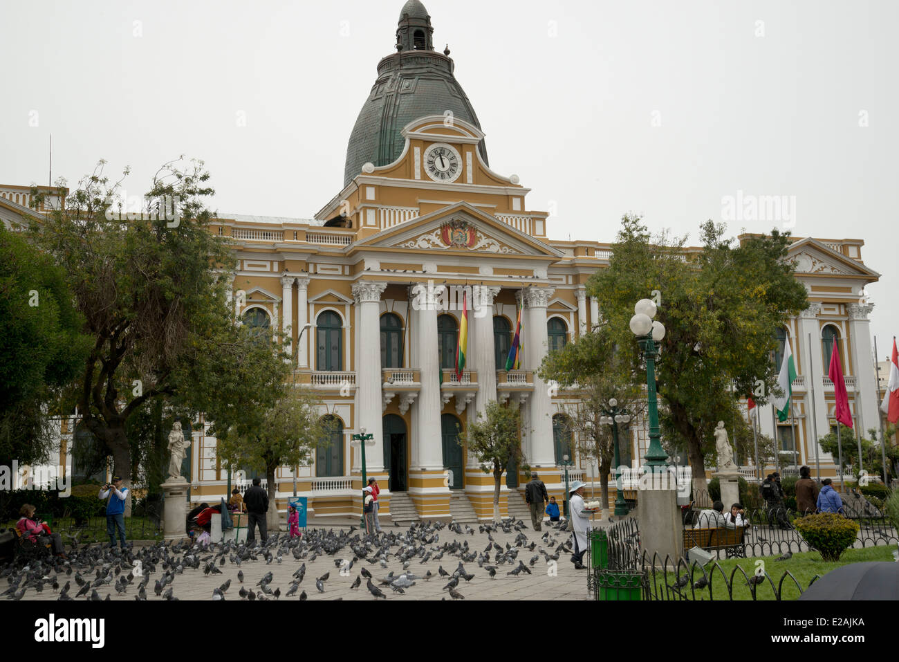 Palacio de Congresos Bolivia. Plurinational Legislative ...