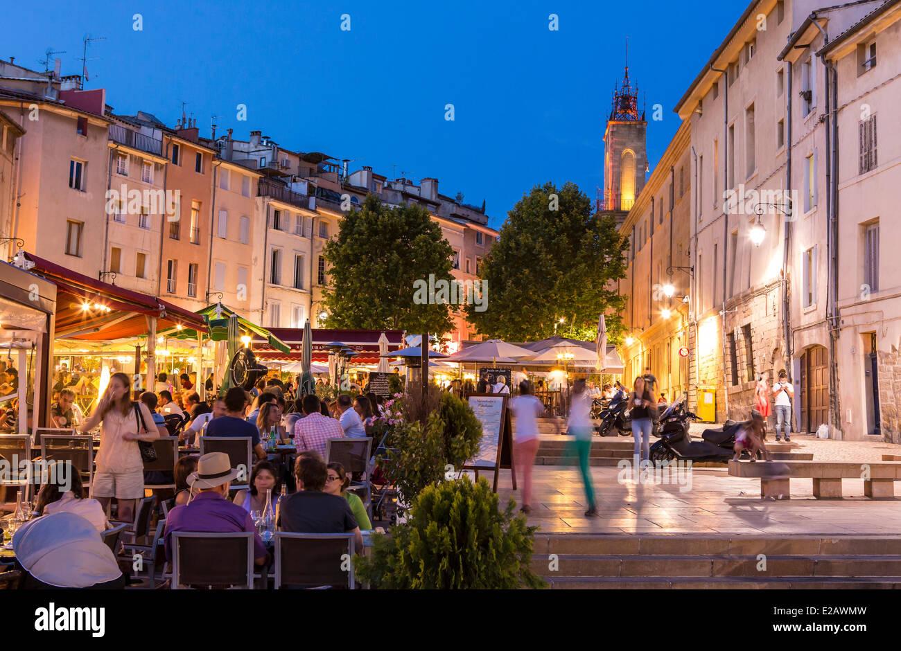France bouches du rhone aix en provence place des for Chambre de commerce bouches du rhone