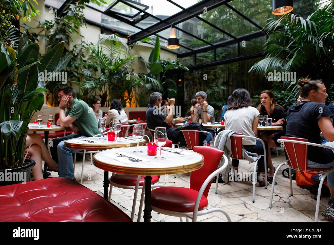 Superior Hotel Amour Paris Restaurant #13: France, Paris, Terrace Restaurant Hotel Amour, 8 Rue Navarin