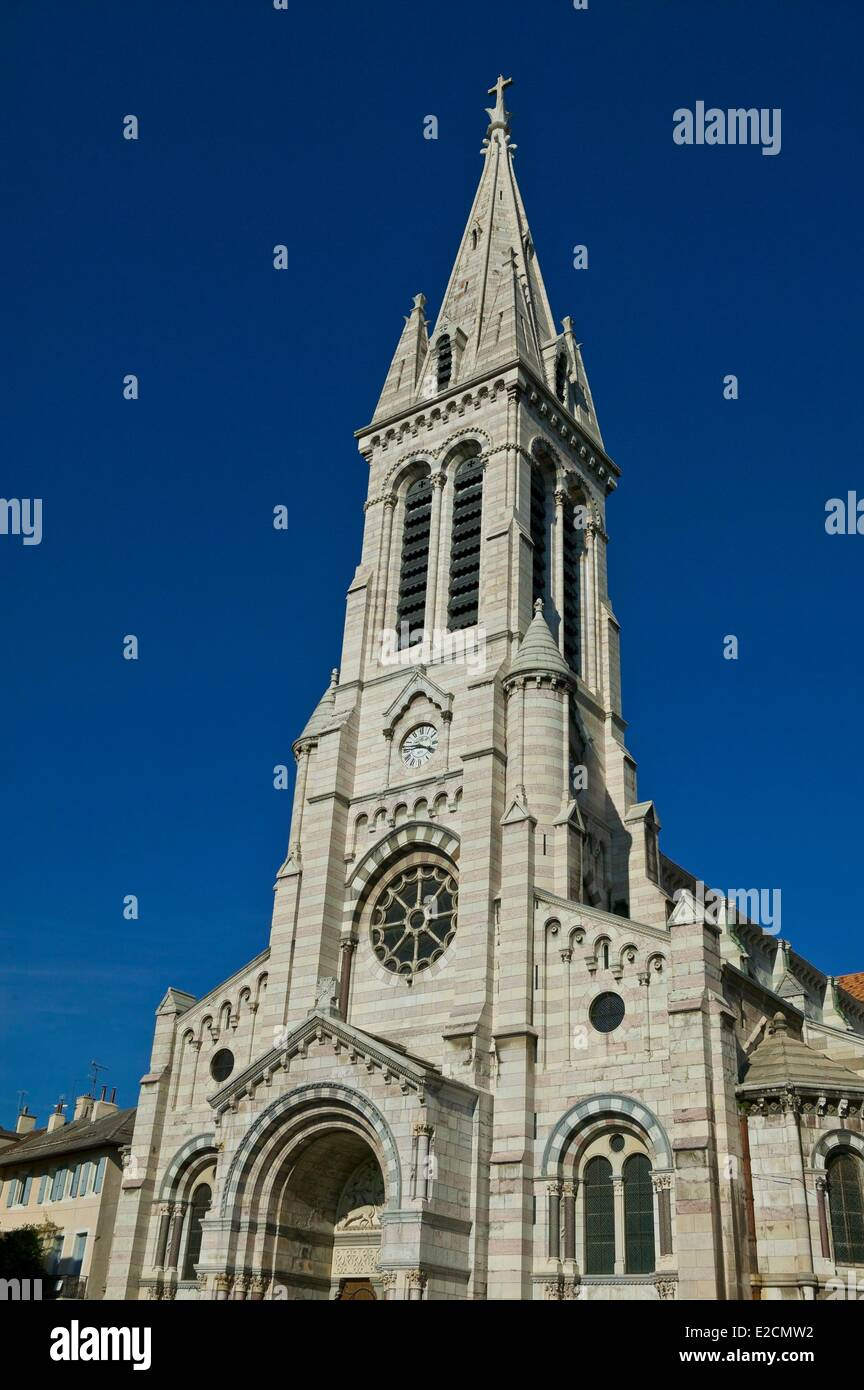 france hautes alpes gap hautes alpes capital the cathedral notre dame stock photo royalty free. Black Bedroom Furniture Sets. Home Design Ideas
