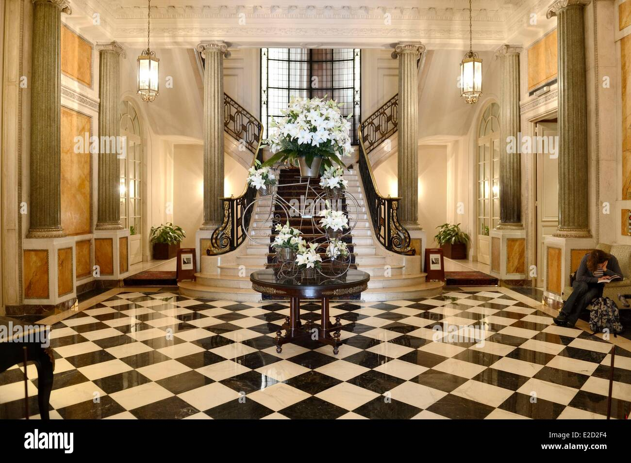 Mansion Foyer Email : Argentina buenos aires staircase of the four seasons hotel
